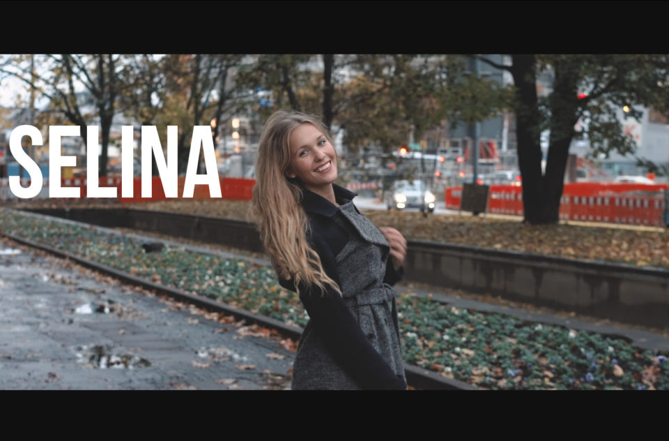 Video Portrait w/ Selina in Karlsruhe Germany 2016