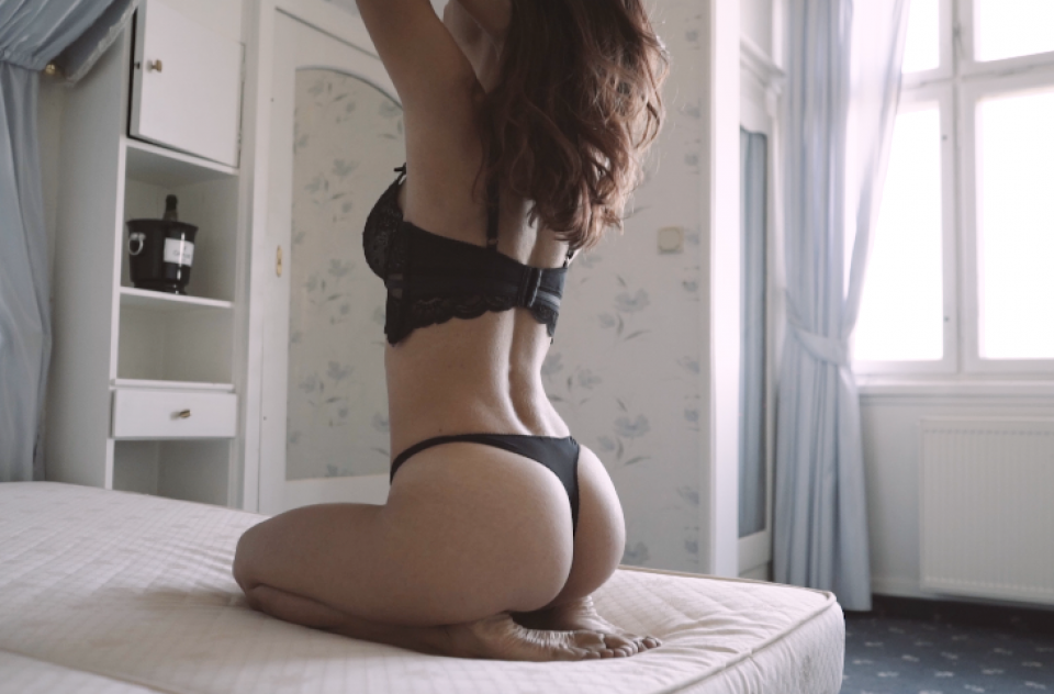 Lingerie Video w/ Claudia at Hotel Waldlust 2018