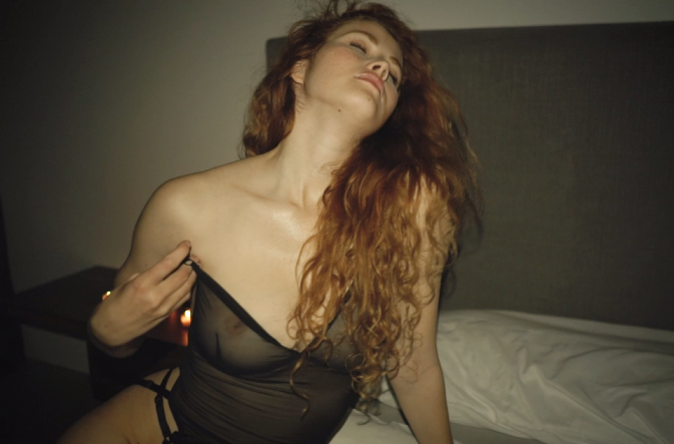 Lingerie & Nude Video w/ Heidi Romanova in Karlsruhe, Germany 2019